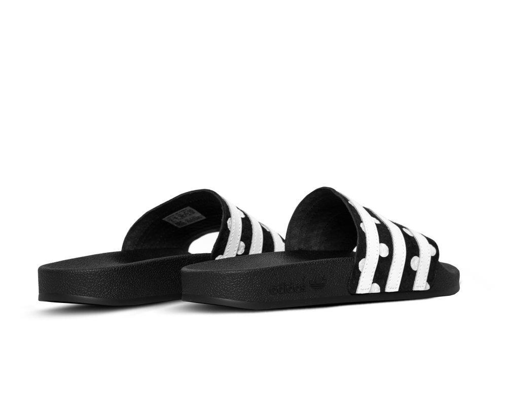Adidas Adilette W Core Black Cloud White EF5591