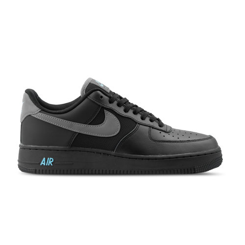 Air Force 1 '07 LV8   Black Cool Grey Blue Fury BV1278 001 BV1278-001