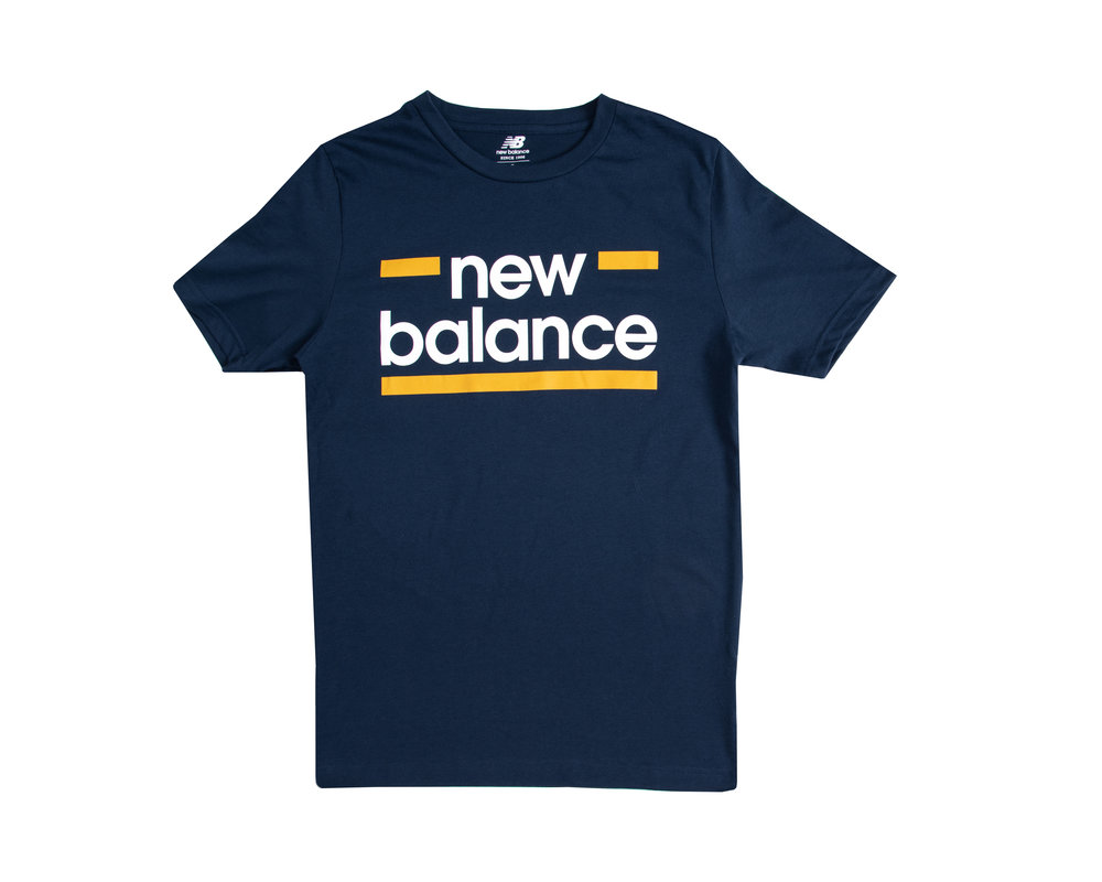 New Balance MT010904 Classic Graphic Tee  Blue 782370 60 53