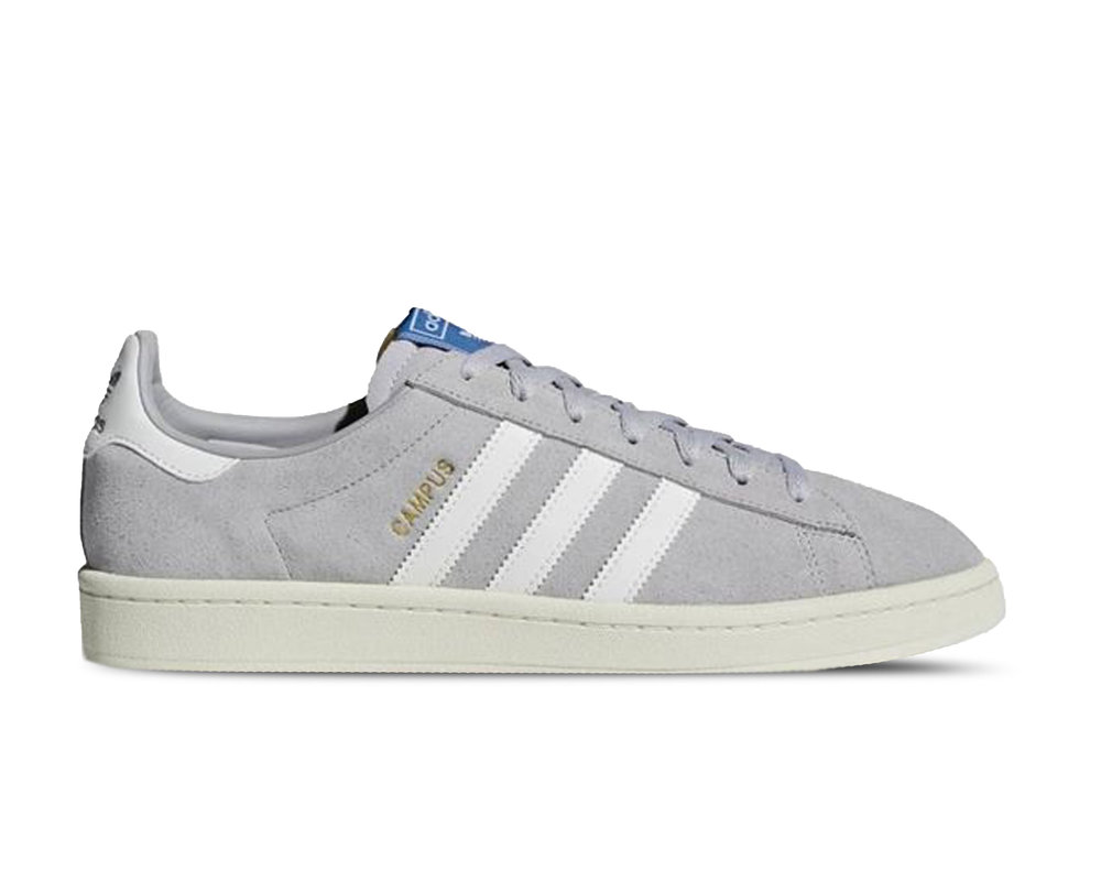 Adidas Campus  Grey Two Cloud White Cream White  B37846