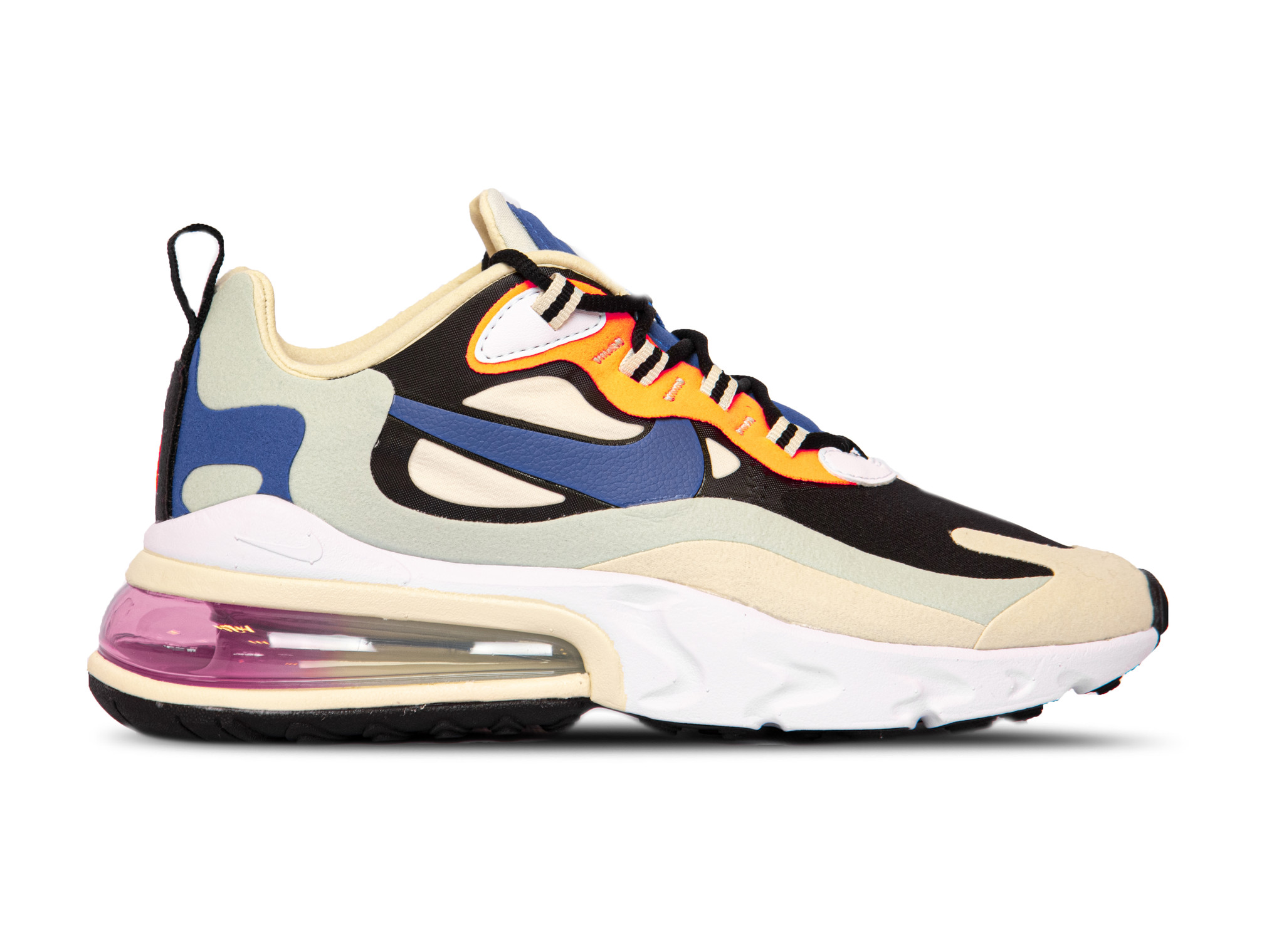Air Max 270 React Fossil Hyper Blue Black CI3899 200