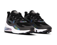 Nike Air Max 270 React 20 DK Smoke Grey Multi Color Black White CT5064 001