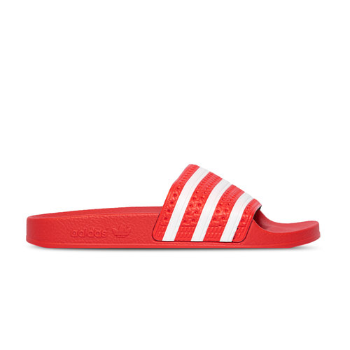 Adilette Lush Red Cloud White EF5432