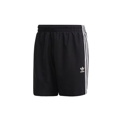 3 Stripe Swim Short Black FM9874