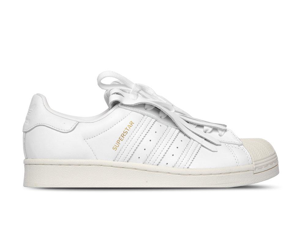 Adidas Superstar Fring White Cloud White Off White Gold Metallic FV3421