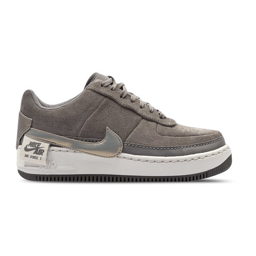 Air Force 1 Jester Lo Gunsmoke Metallic Pewter vast Grey BQ3163 001