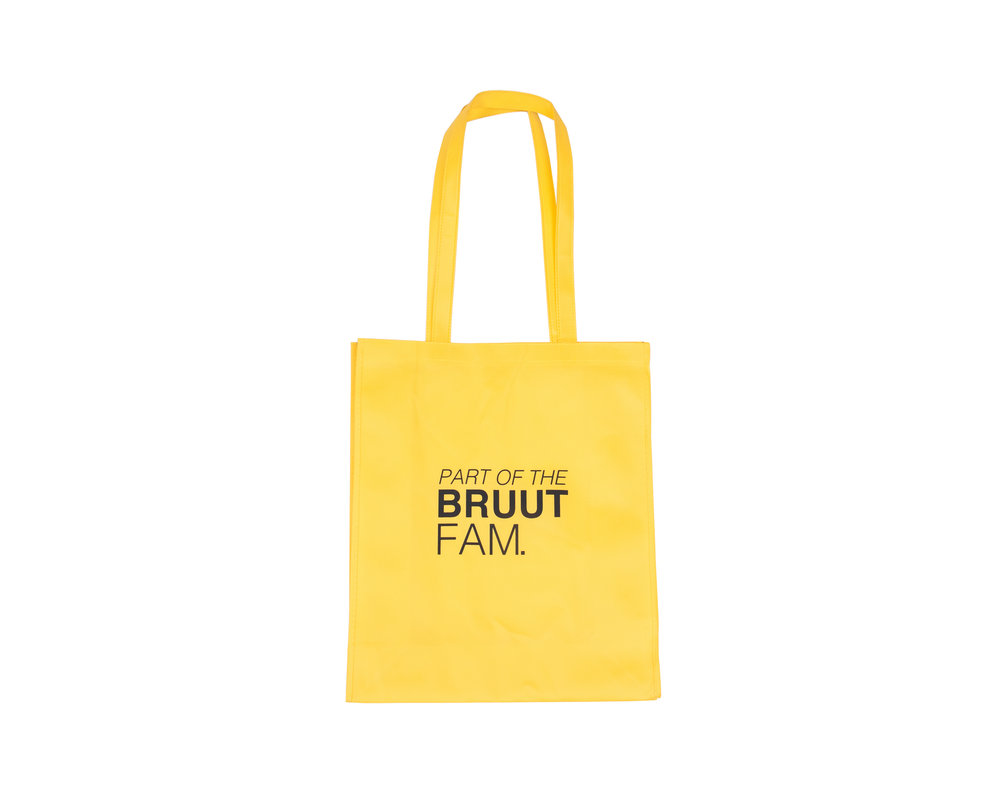 Bruut Exclusive Totebag Cyber Yellow