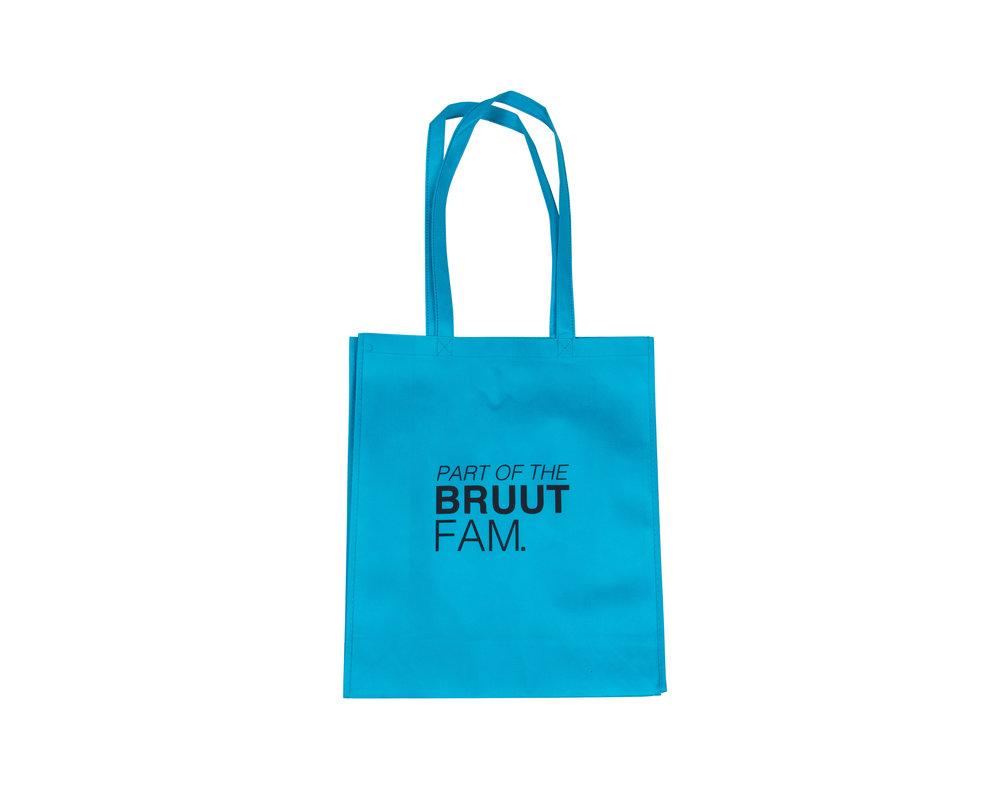 Bruut Exclusive Totebag Jewel Blue