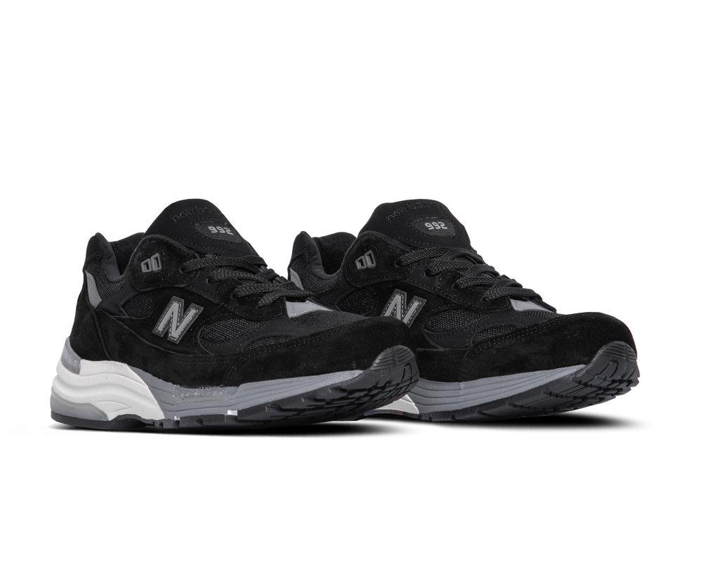 New Balance M992BL Black Black Grey 781201 60 12