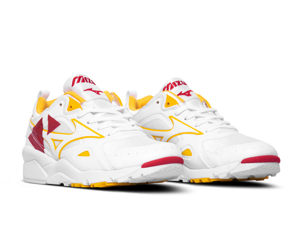 Mizuno Sky Medal Time White Chinese Red D1GA200962