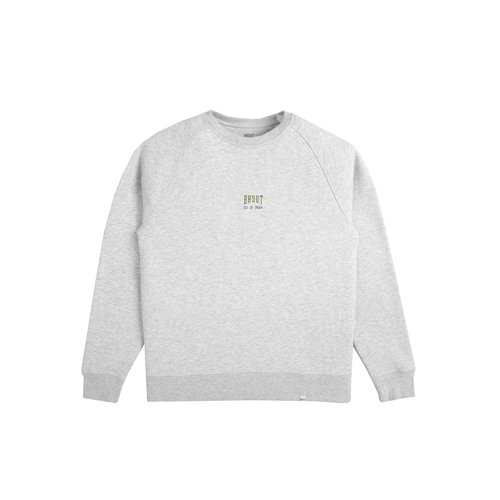 Out Of Order Crewneck Grey Acid Green HFD044