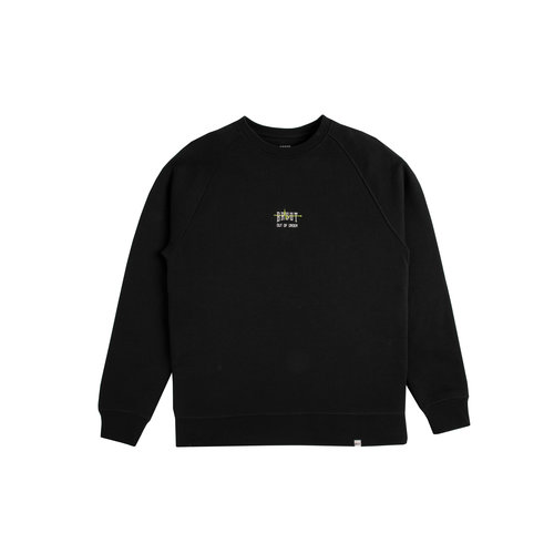 Out Of Order Crewneck Black Acid Green HFD045