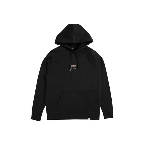 Out Of Order Hoodie Black Nuclear Red HFD048