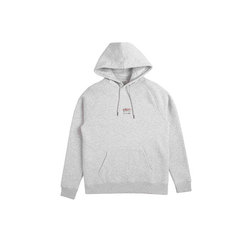 Out Of Order Hoodie Grey Nuclear Red HFD049