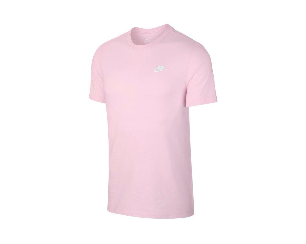 Nike NSW Club Tee Pink Foam White AR4997 663