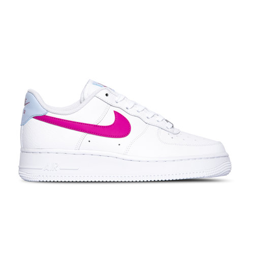 WMNS Air Force 1 '07 White Fire Pink Hydrogen Blue CT4328 101