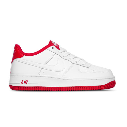 Air Force 1 1 GS White University Red CD6915 101