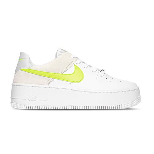 WMNS Air Force 1 Sage Low White Lemon Venom CW2652 100
