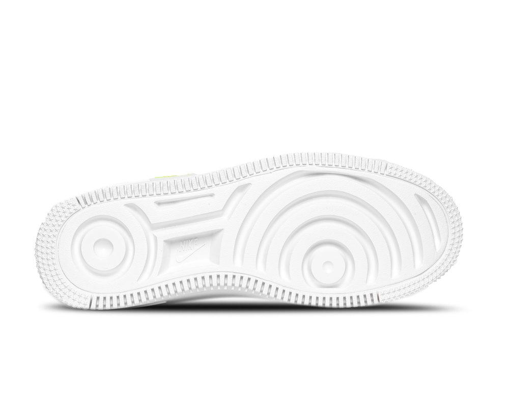 Nike WMNS Air Force 1 Sage Low White Lemon Venom CW2652 100