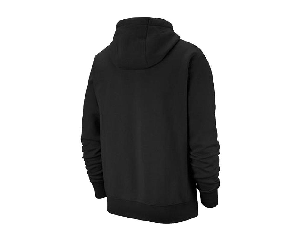 Nike NSW Club Fleece Hoodie Black White BV2654 010