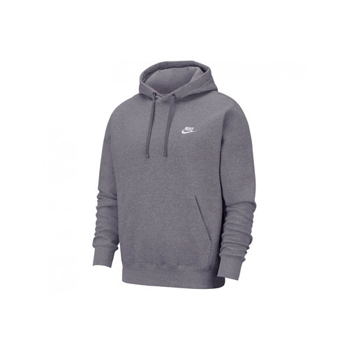 NSW Club Fleece Hoodie Charcoal Heather Anthracite White BV2654 071