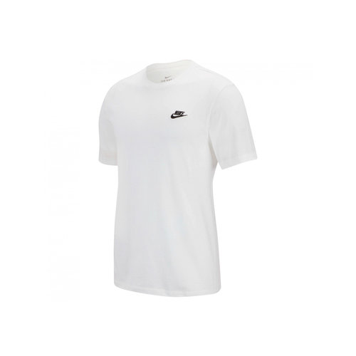NSW Club Tee White Black AR4997 101