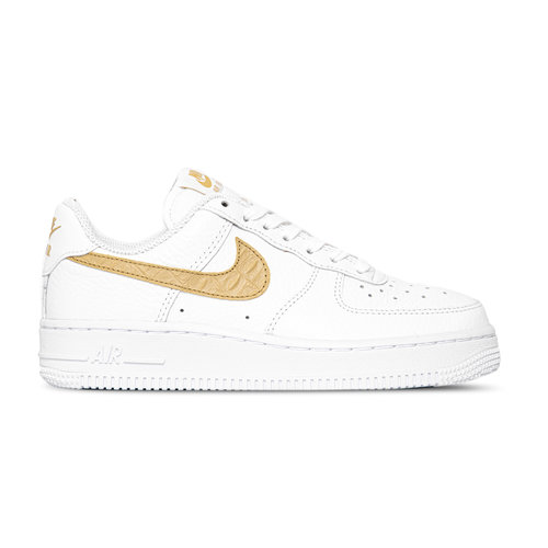 Air Force 1 LV8 White Club Gold White CW7567 101