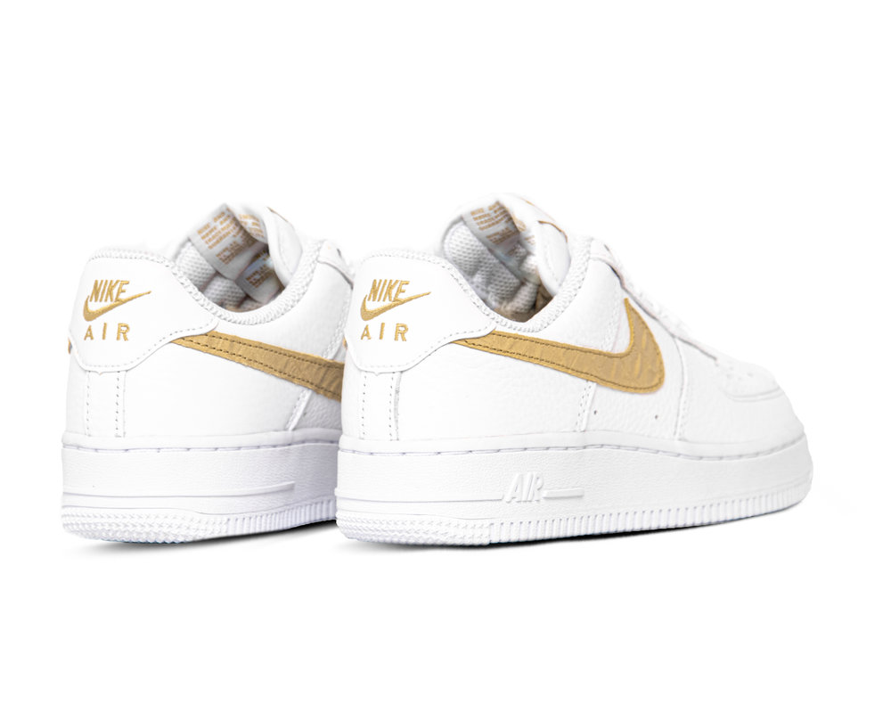 Nike Air Force 1 LV8 White Club Gold White CW7567 101