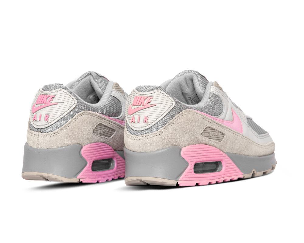Nike Air Max 90 Vast Grey Pink Wolf Grey String CW7483 001