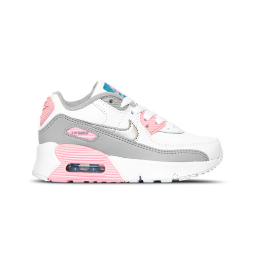 Air Max 90 Smoke Grey Metallic Silver White Pink CD6867 004