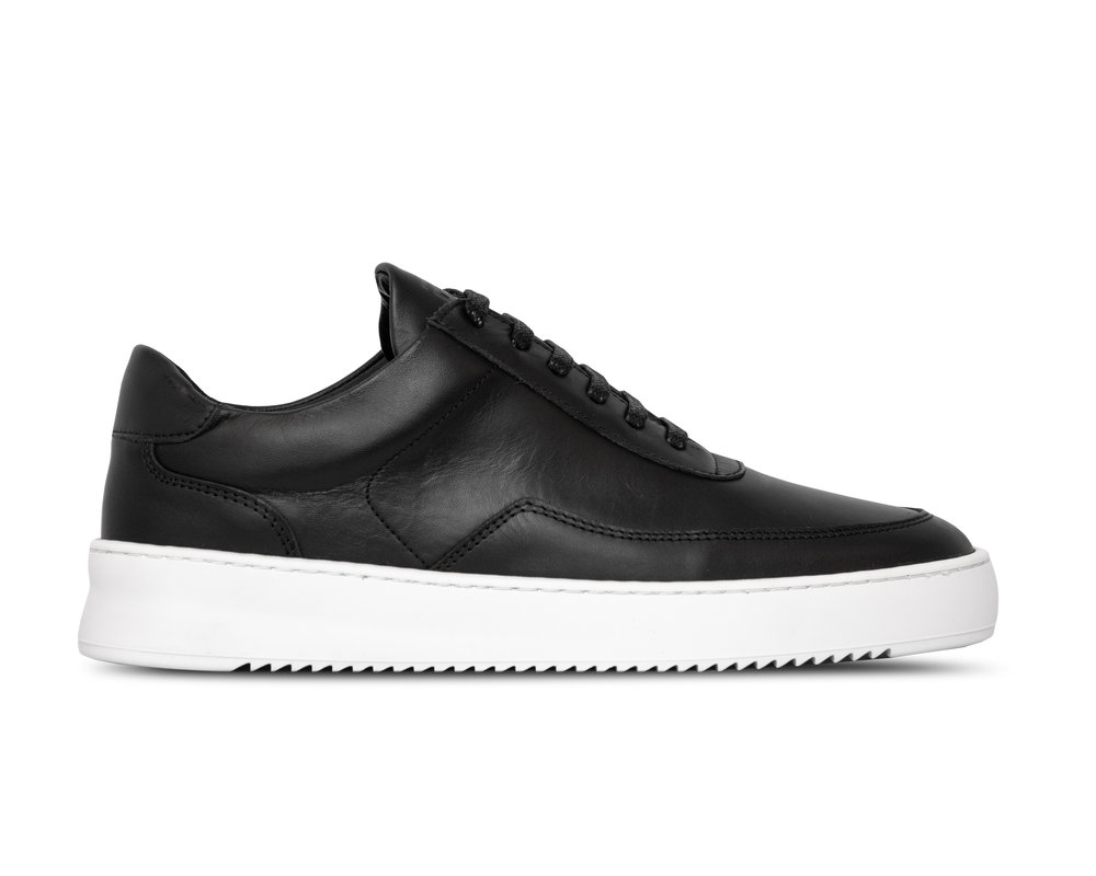Filling Pieces Low Mondo Ripple Matt Nappa Black 2452699 1861