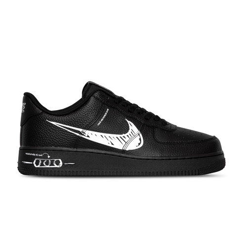 Air Force 1 LV8 Utility Black White Black CW7581 001