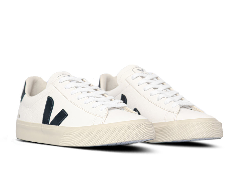Veja Campo Chromefree Leather White Nautico CPW052058