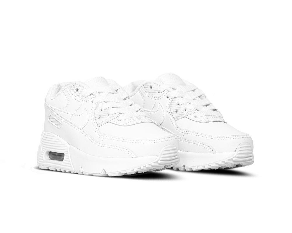 Nike Air Max 90 LTR White White Metallic Silver White CD6867 100