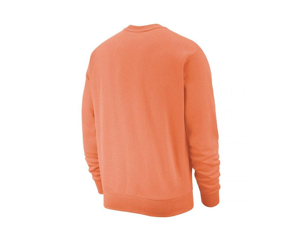 Nike NSW Club Crewneck Orange Trance White BV2662 871