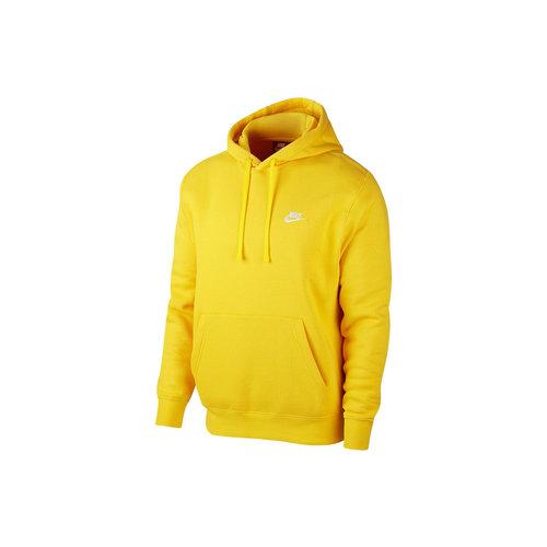 NSW Club Fleece Hoodie Opti Yellow White BV2654 731