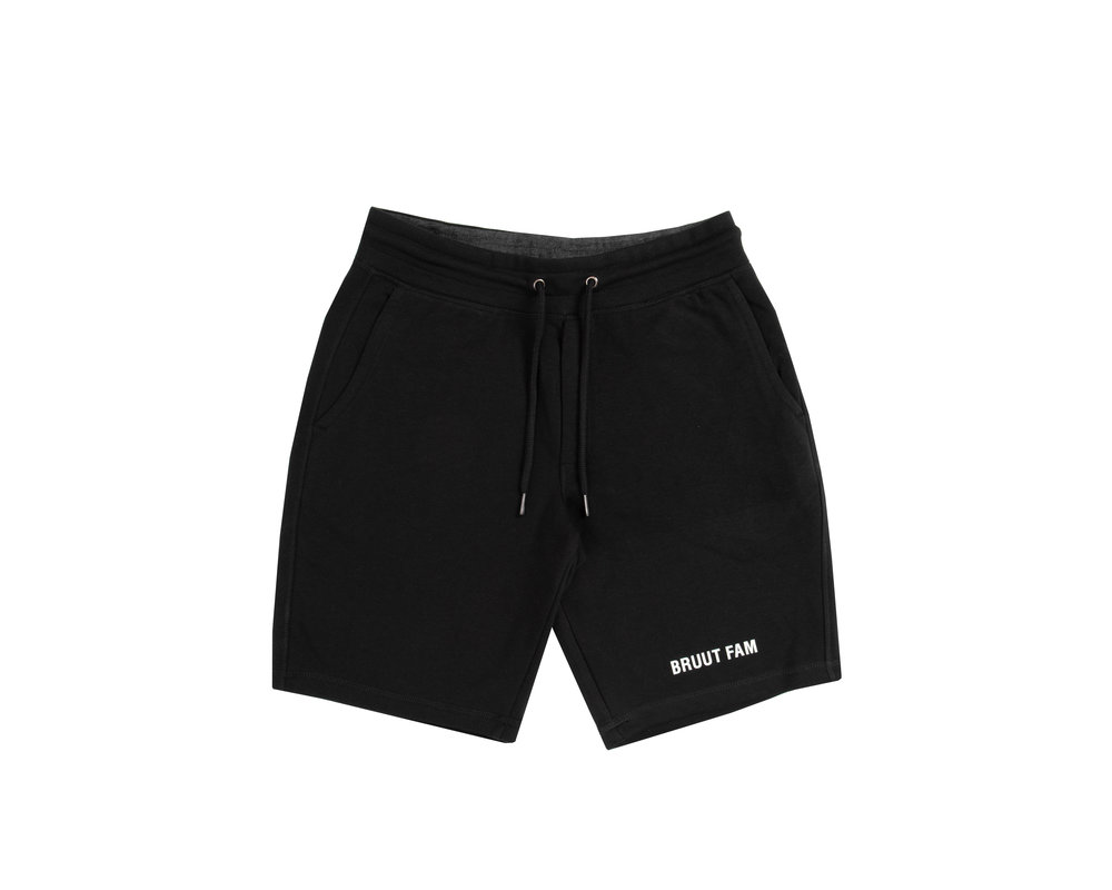 Bruut Sweat Short Black HFD1002