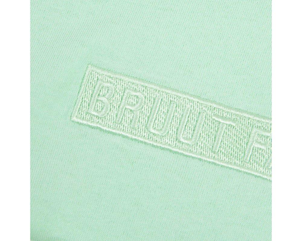 Bruut Box Logo Apple Green HFD112