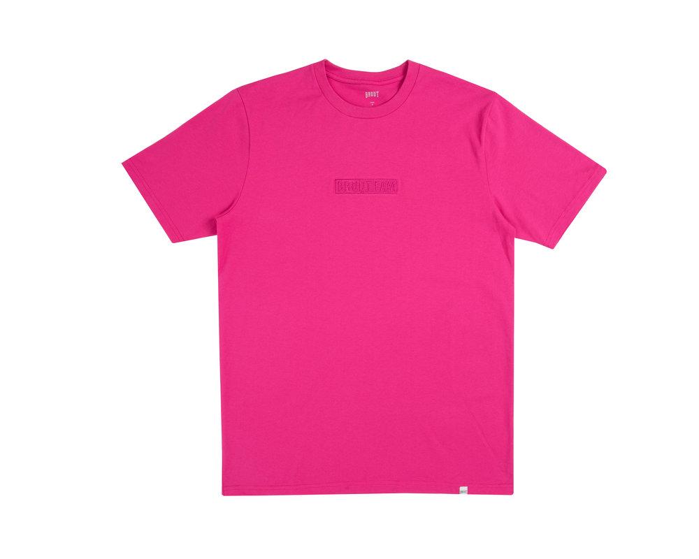 Bruut Box Logo Candy Pink HFD113