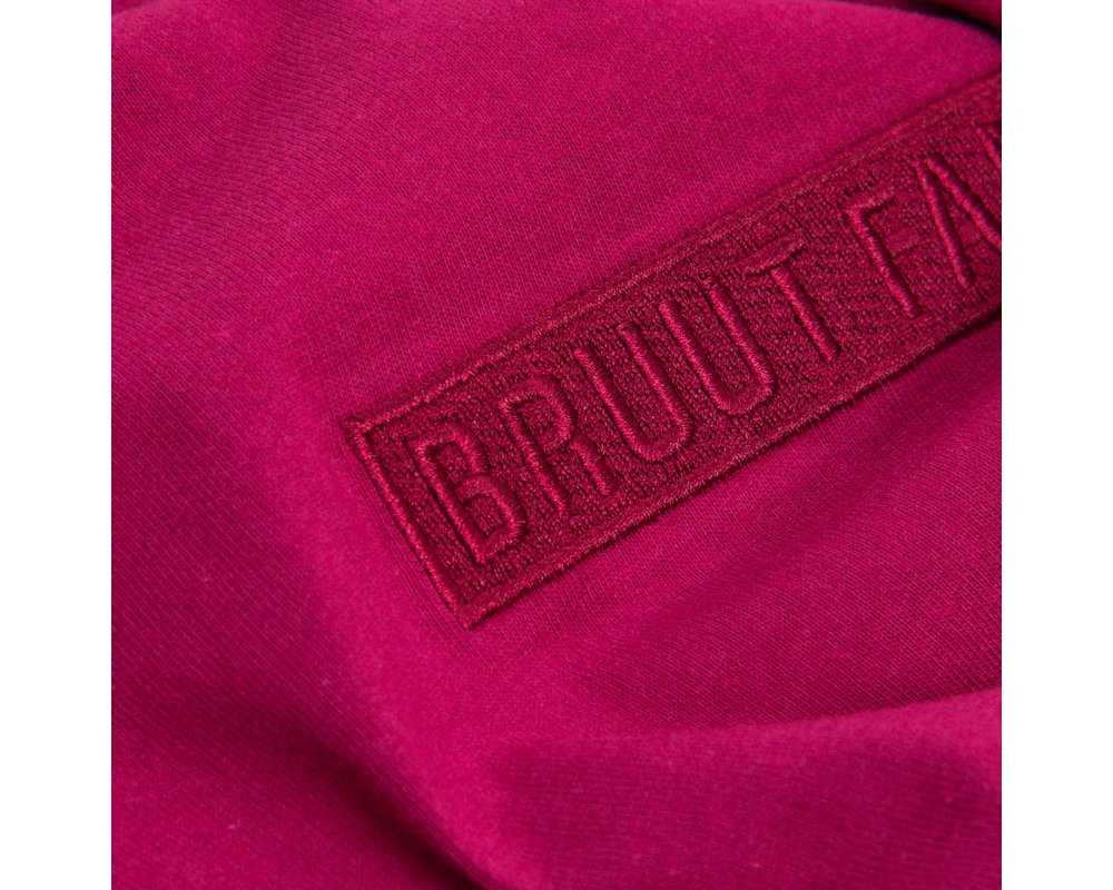 Bruut Box Logo Dark Burgundy HFD114