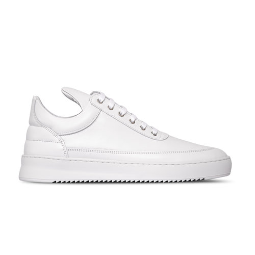 Low Top Ripple Lane Nappa All White 2512172 1855