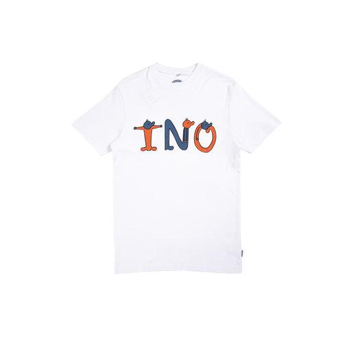 Freddy Front Tee White TNO21