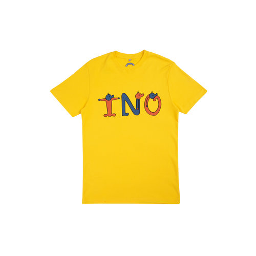 Freddy Front Tee Yellow TNO20