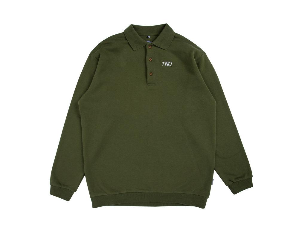 The New Originals Barman Sweater Green TNO19