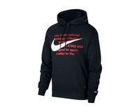 Nike NSW Swoosh Hoodie Black White CJ4863 010