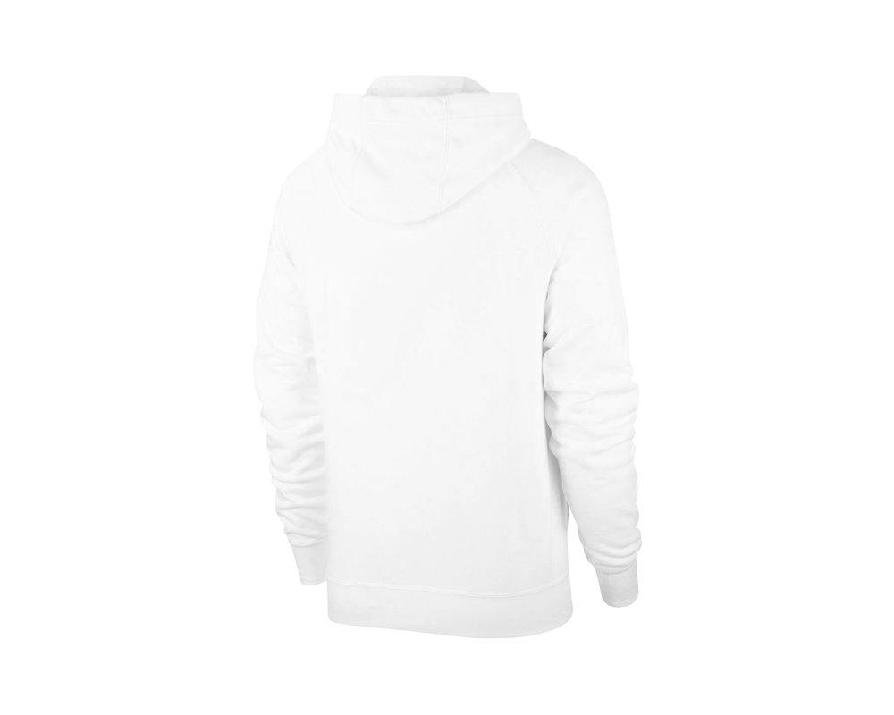 Nike NSW Swoosh Hoodie White Black CJ4863 100