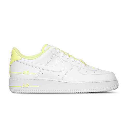 Air Force 1 07 LV8 3 White Barely Volt CJ1379 101
