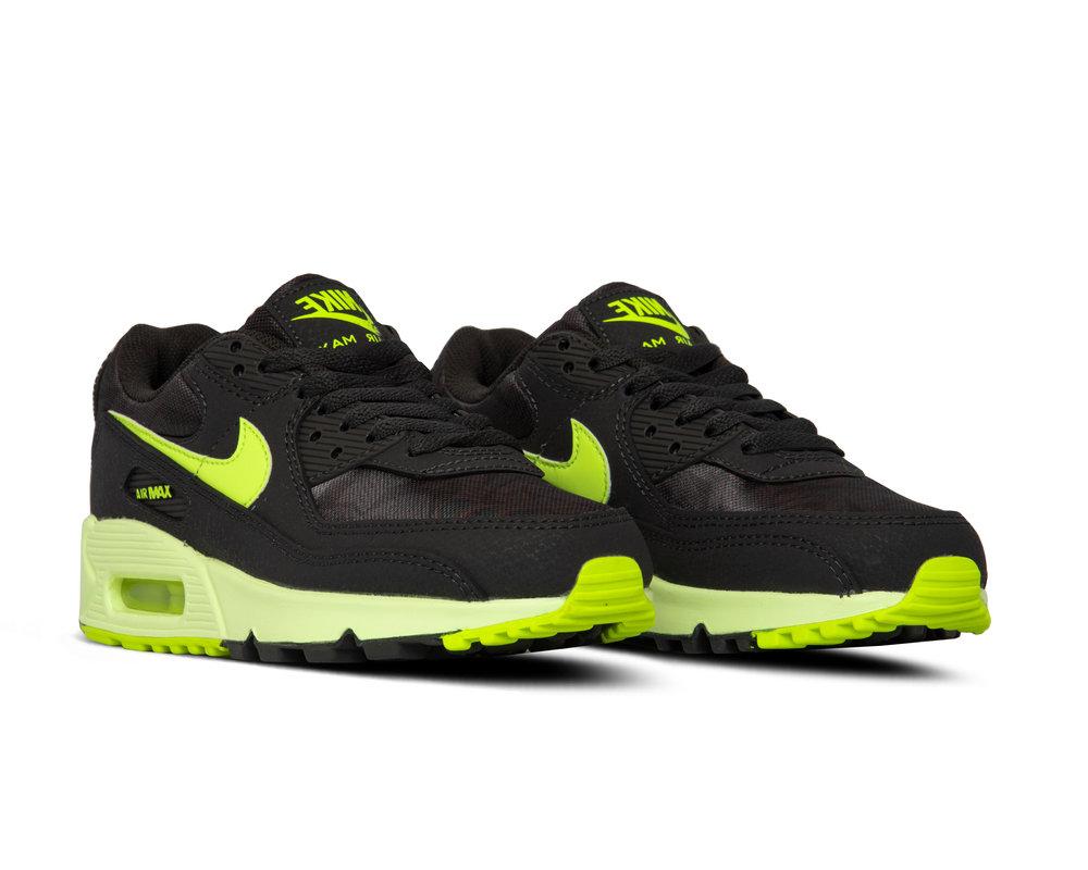 Nike W Air Max 90 DK Smoke Grey Volt Barely Volt CZ0378 001 CZ0378-001