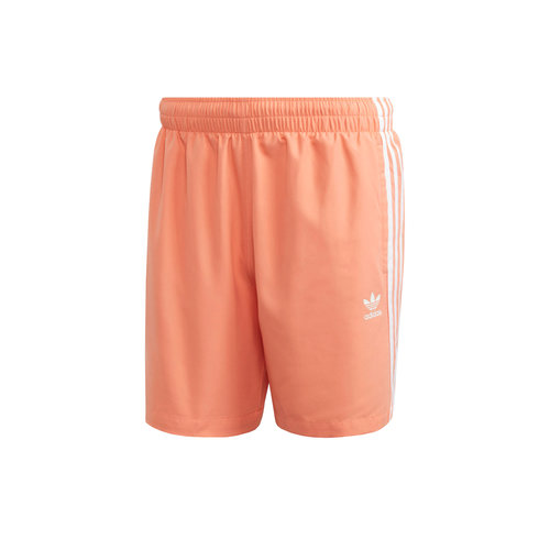 3 Stripe Swim short Chalk Coral FM9877