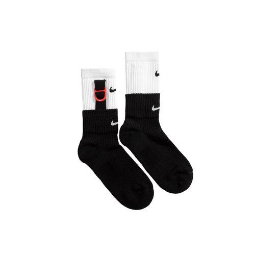 Sneaker Sox Crew White Black SK0099 100